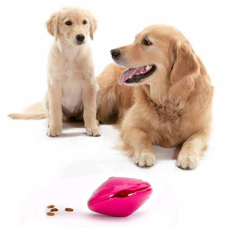 Pet Dog Training Leaking Food Ball Pet Safe Bite Resistant Puzzle Chew Toy For Dog Tooth Clean Ball Of Food Extra-tough Supplies