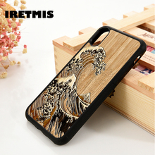 Iretmis 5 5S SE 6 6S Silicone Rubber phone case cover for