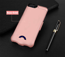 Battery Charger Case For iPhone 6 6s 7 8 Plus Battery Case Power Bank Charging Cases Charger Ultra Slim External Back Pack Cover(China)