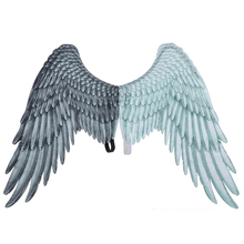 Adult Child Angel Wings Photo Prop Stage Show Halloween Costume Wedding Party Supplies Kid Birthday Gift Decors 75*105CM S12