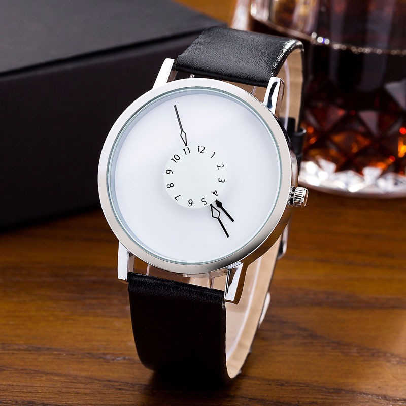 Paidu Watch Men Fashion Watches Creative Watches Men White Leather Strap Watch Casual Man Watch reloj hombre 2019 erkek kol saat