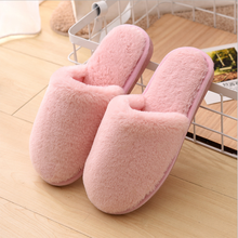 Sfit Slipper Women House Plush Soft Cute Cotton Slippers Shoes Non-slip Floor Furry Slippers Women Shoes For Bedroom size 36-41