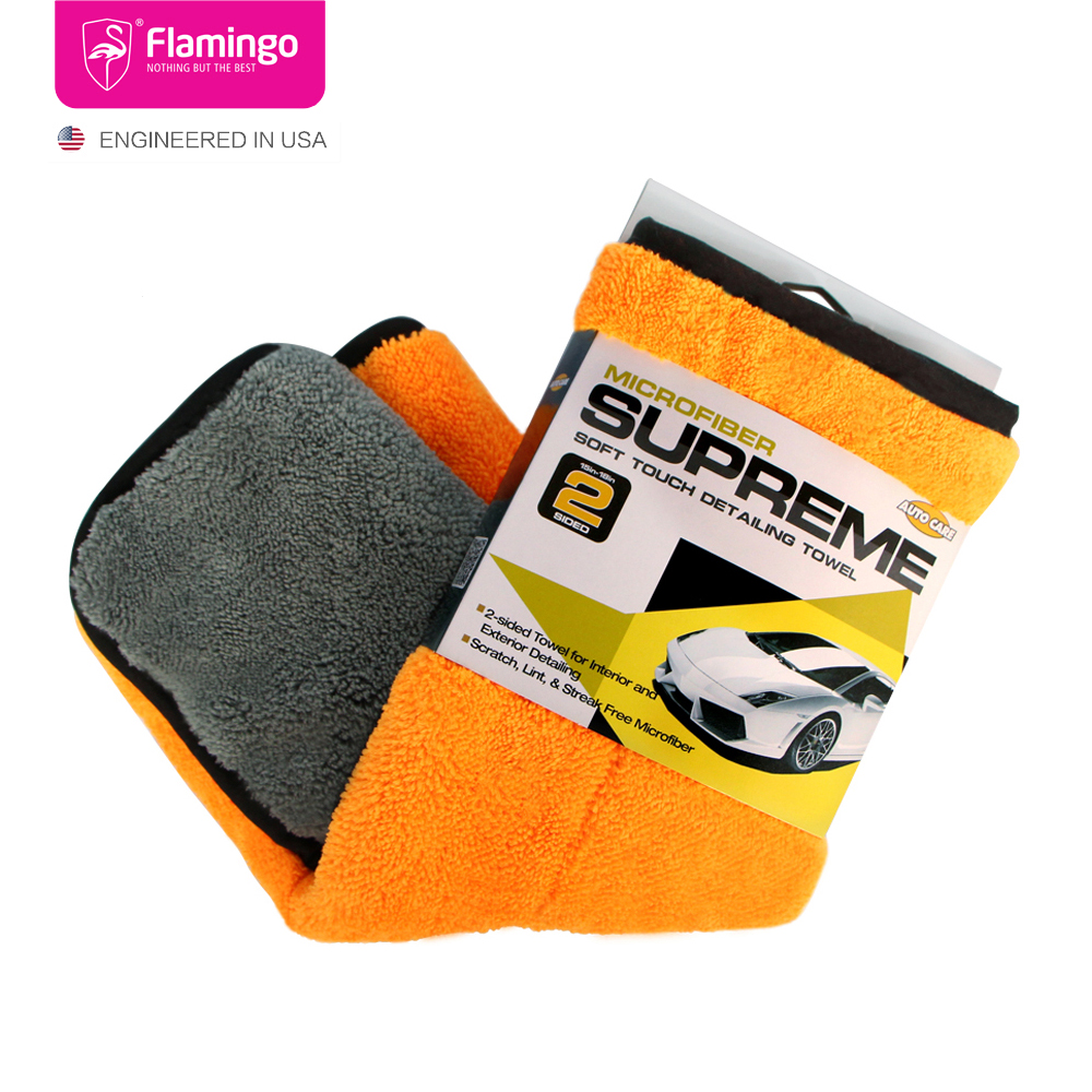 45x38cm 800gsm Microfibre Wax Polishing Thick Plush Car Wah Dring Towel Microfiber Cleaning Drying Cloth Absorption For Car Home