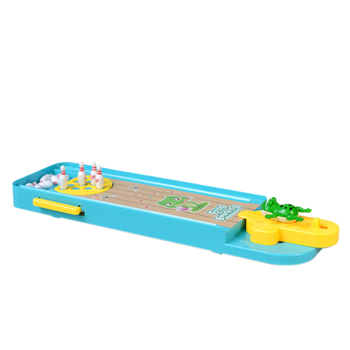 Kids Mini Desktop Bowling Game Toy Funny Indoor Parent-Child Interactive Table Sports Game Toy Bowling Educational Gift juior blokus classic kids board game baby desktop funny strategy game family parent child interactive educational fun toys