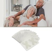 60 PCS Snore Stopper Nasal Lip Stickers Breathable Sleeping Anti-snoring Strips Sticker Lightweight Home Accessories