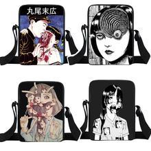 Women Handbag Messenger-Bags Crossbody-Bag Horror Junji Manga Mini Girls Teenager Kago