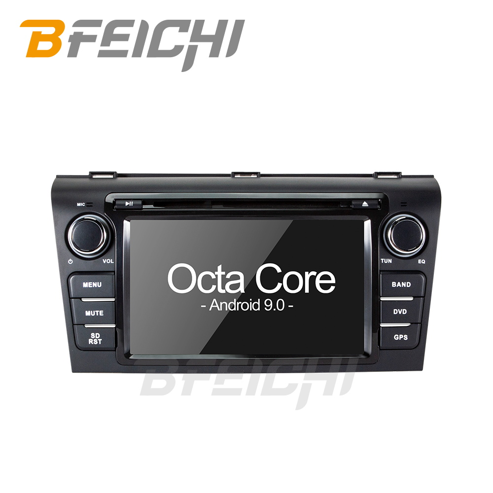 Bfeichi android 9.0 car dvd for Mazda 3 2004 2005 2006 2007 2008 2009 car radio stereo image