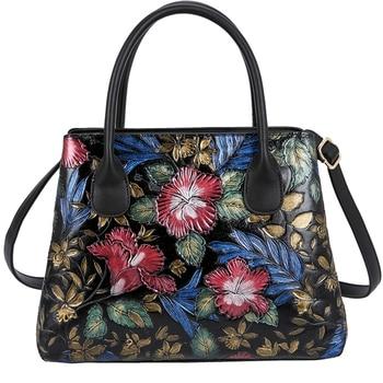 Women Shoulder bag Shopping Handbag Bags High Quality Embossed PU Leather Handle Bag Tote Large Capacity crossbody bags цена 2017