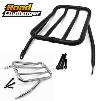 Motorcycle Sissy Bar Backrest Luggage Solo Shelf Frame Rack For Harley Sportster Iron 883 XL883N 2009-2017 48 XL1200X 72 XL1200V