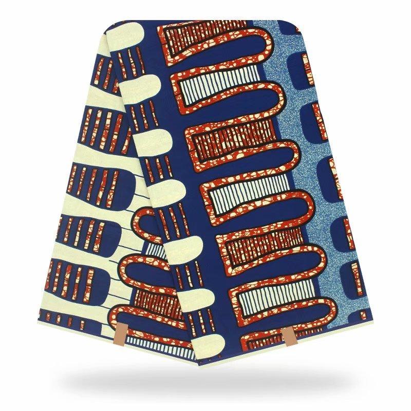 2020 Best Dashikiage New Arrival African Pagne Nederlands Veritable Real Dutch Wax Print Fabric 100% Cotton Batik Premium 6Yards