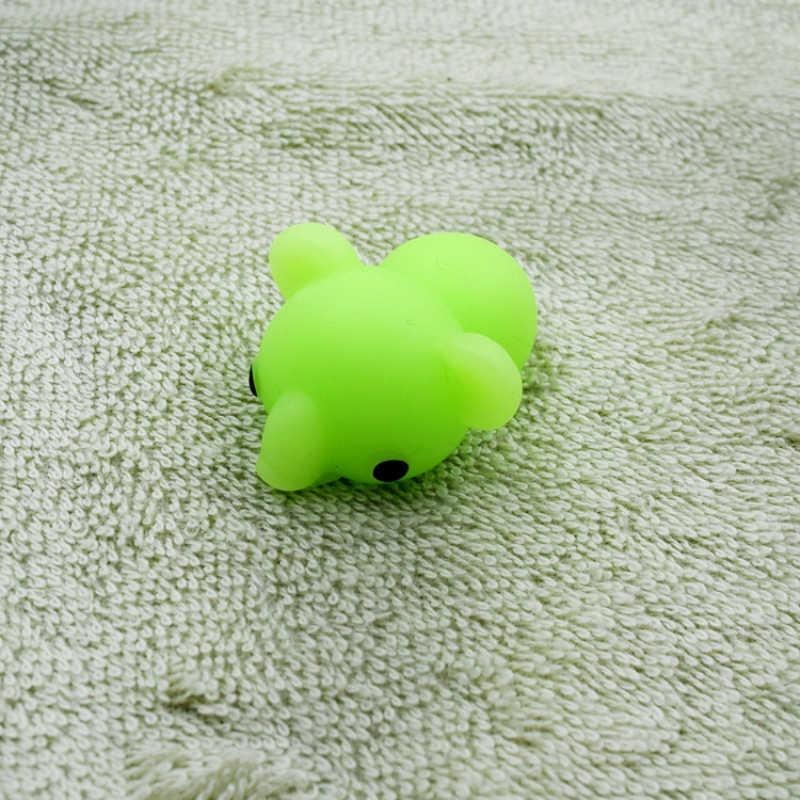41 modèles presser jouets Mini changement de couleur spongieux mignon animaux Anti-stress balle presser doux collant soulagement du Stress drôle cadeau jouet
