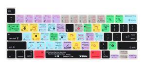Чехол для клавиатуры XSKN Ableton Live на английском языке, чехол для A2141, версия США, 16 дюймов, Новый MacBook Pro, с сенсорной панелью и Touch ID
