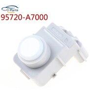 Cor branca pdc novo sensor de estacionamento pdc 95720 a7000 95720a7000 para kia cerato casal 2014 para hyundai ix35|Sensores de estacionamento|   -