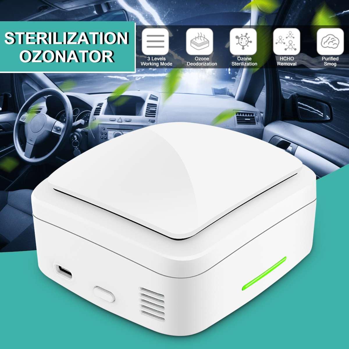 Air-Purifier Car Ozone Sterilizer Generator Ionizer Generator FILTER Purification Home Deodorizer Pet Deodorizer Air Ionizer
