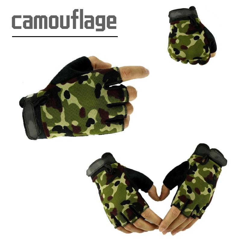 Men Tactical Antiskid Cycling Bike Gym Fitness Sports Half Finger Gloves New Road Bike Gloves Women Cycling Gloves Half Finger