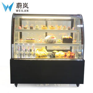 Manufacturers sell 0.9m Cake Cabinet Commercial Refrigeration Display Arc Dessert Showcase