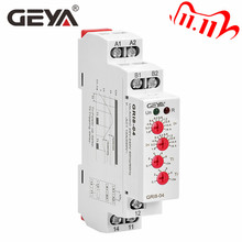 GEYA GRI8 04 Over Current and Under Current Monitor 0.05A 1A 2A 5A 8A 16A Current Monitoring Relay