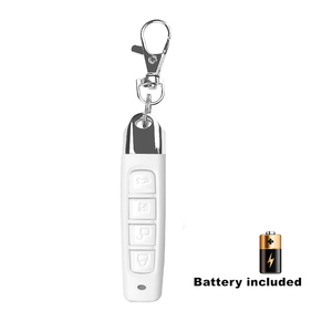 Image 2 - kebidu 433MHz Wireless Remote Control Cloning Duplicator With Key Chain 4 Buttons Electric Copy Controller For Garage Door