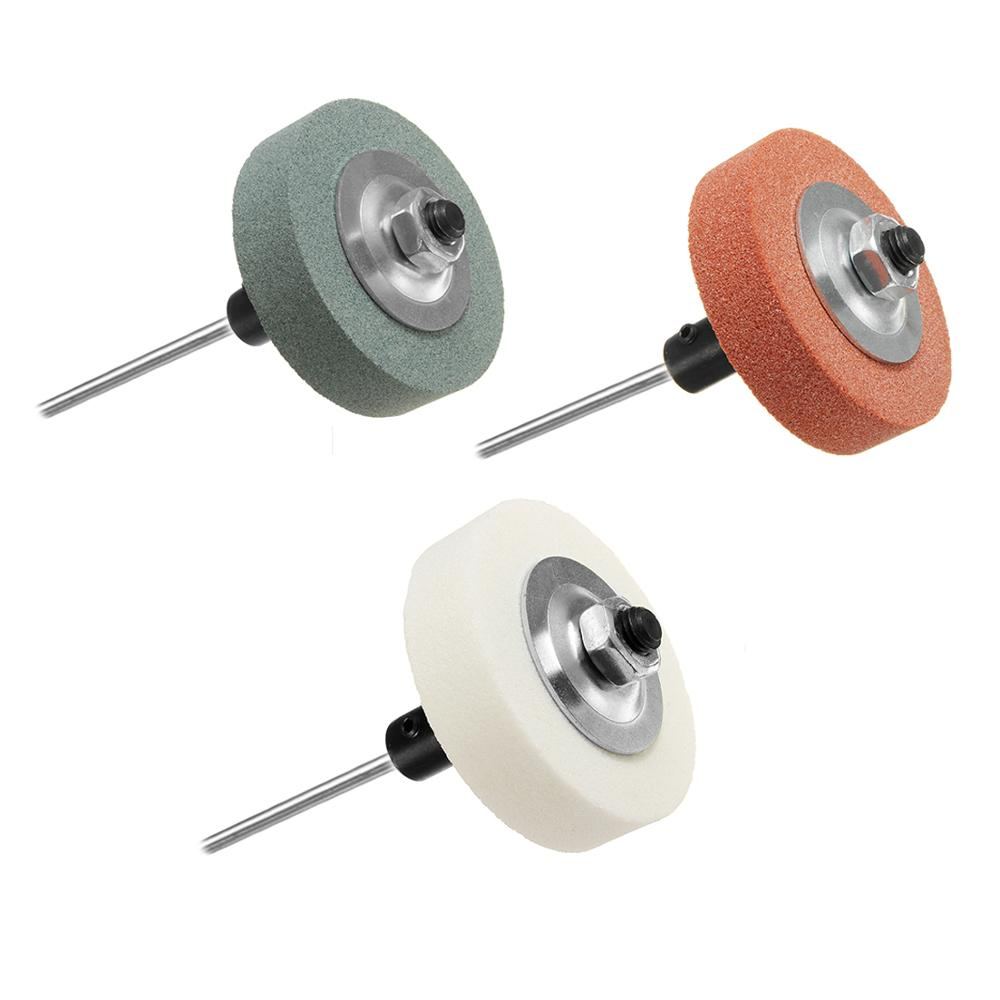 Grinding Wheel Adapter Set Changed Electric Drill Into Grinding Machine Orange / Green / White 70x20x10mm
