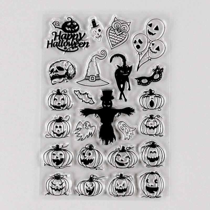 Счастливые марки на Хэллоуин тыква маска марки пуля Журнал Планировщик штампы украшение embellishments      АлиЭкспресс