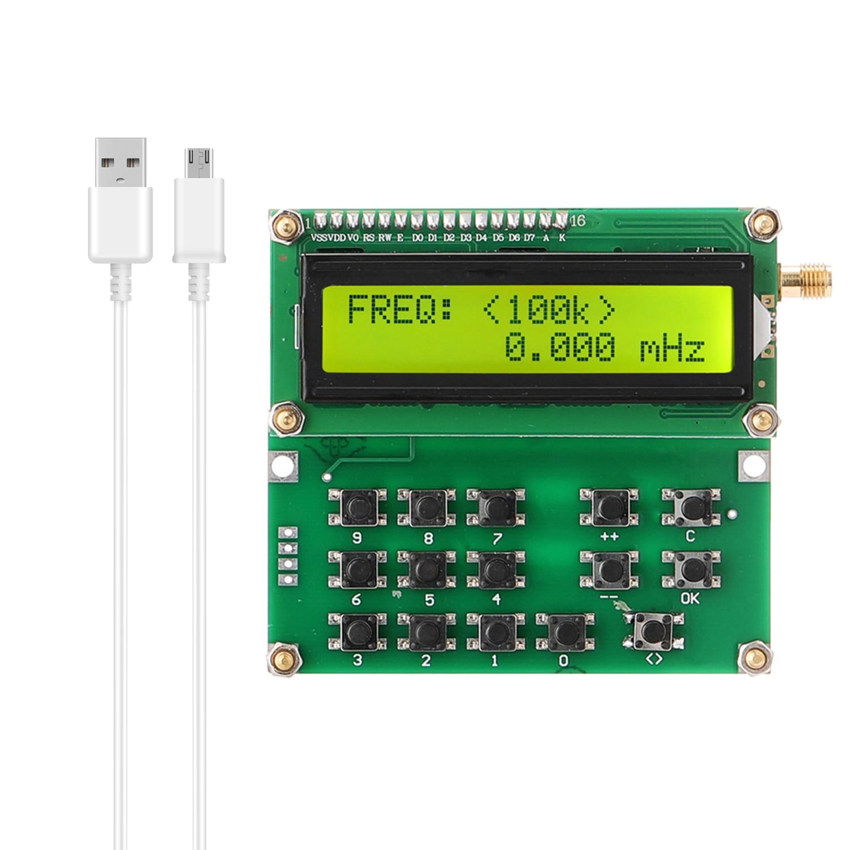 Генератор сигналов ADF4351 VFO, генератор сигналов с переменной частотой от 35 до 4000 МГц, цифровой ЖК-дисплей, USB, инструменты «сделай сам»