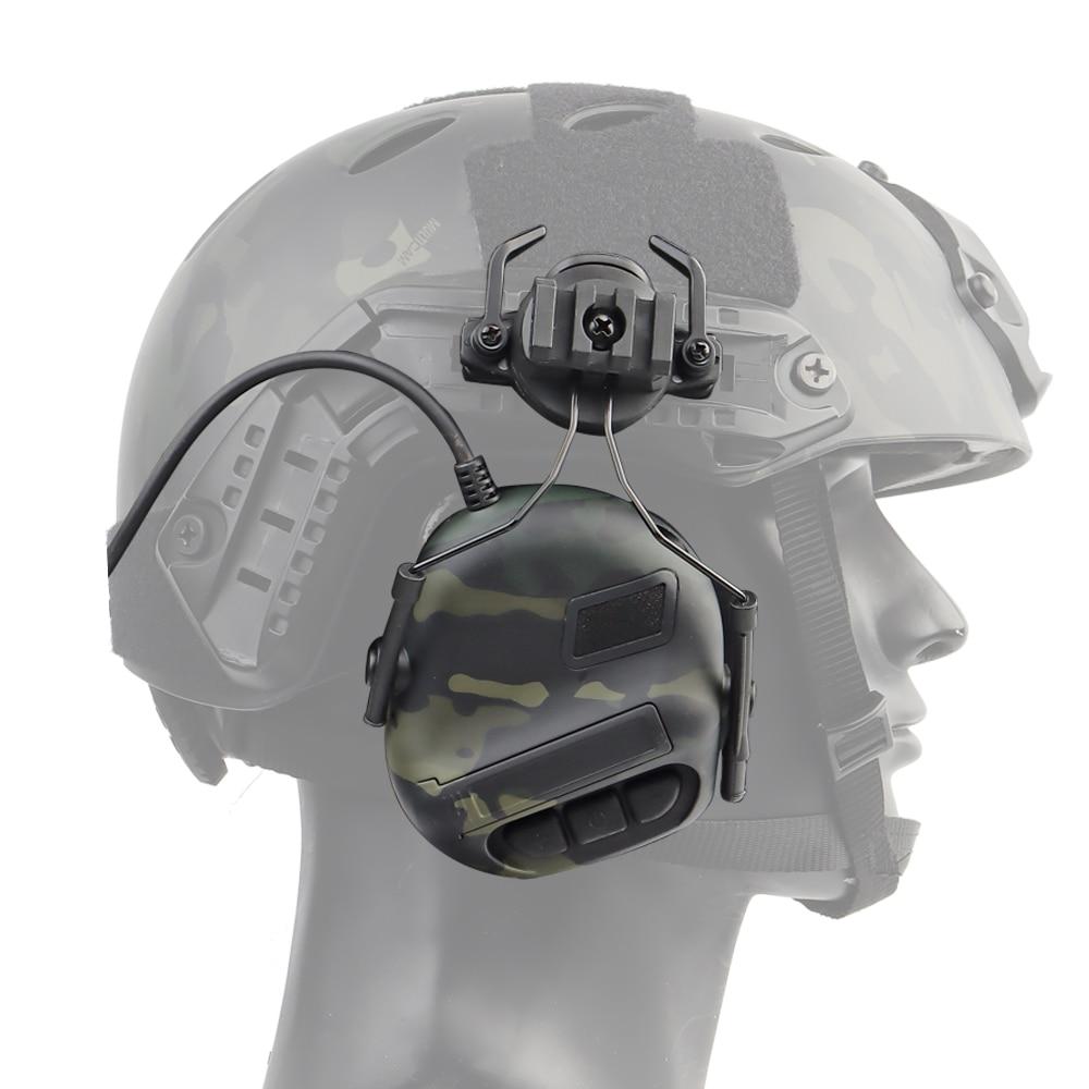 Купить тактическая гарнитура для шлема шумоподавление звука армейские
