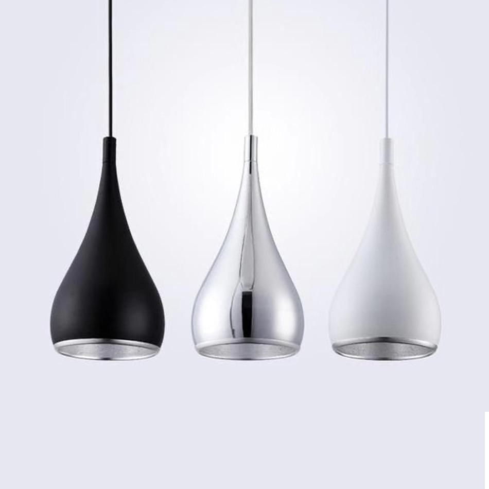 Modern Restaurant Pendant Lights Minimalist LED Hand Lamp Aluminum Dining Room Pendant Lamps Indoor Decoration Home Lighting