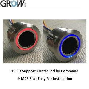 Image 3 - R503 2 Màu Mới Lạ Vòng Đèn Báo LED Điều Khiển Vòng Vân Tay Module Điều Khiển Truy Cập Arduino