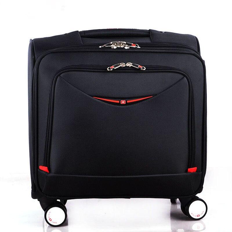 2019 été nouveau Style couteau suisse affaires embarquement sac Oxford tissu bagages roue universelle 18 pouces voyage bagages
