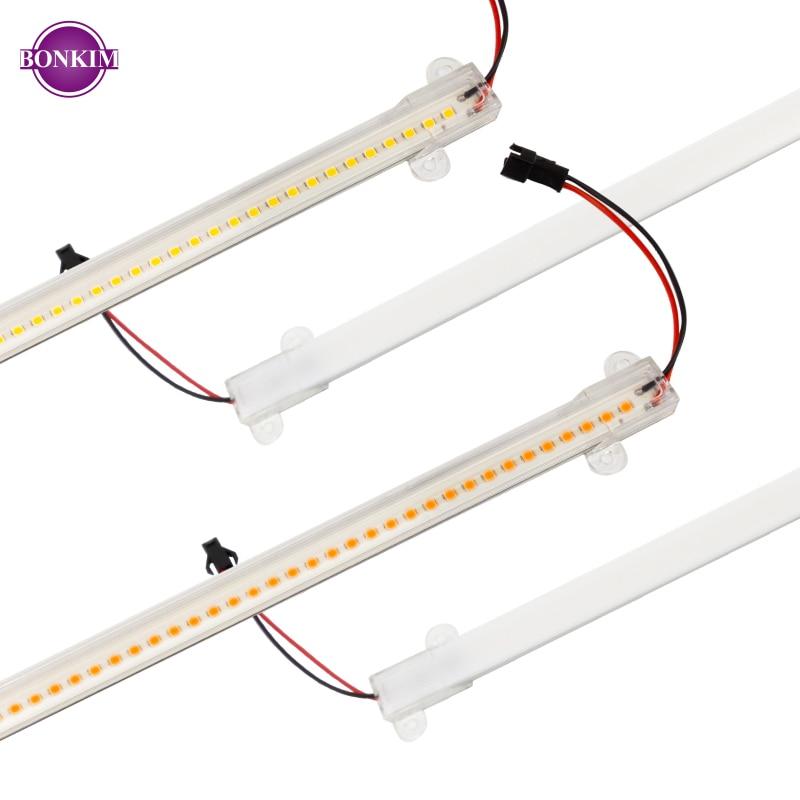 LED Phyto Bar Light Warm White Grow Light AC220V 7W Full Spectrum Low Energy Saving For Plant Growth Cabinet Lighting CN RU SP