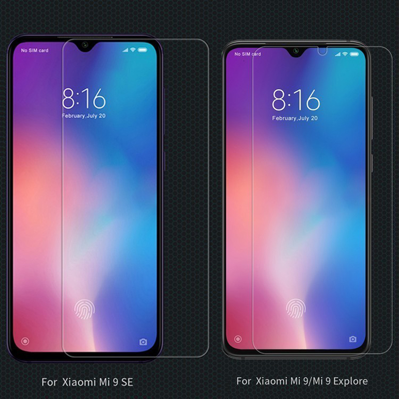 Image 2 - For Xiaomi Mi 9 Tempered Glass for Xiaomi Mi9 SE Glass Nillkin Amazing H/H+Pro Front Screen Protector For Xiaomi Mi 9 Explore-in Phone Screen Protectors from Cellphones & Telecommunications on