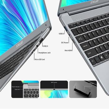 Teclast F7 Plus 3 Laptop 14.1″ 1920 x 1080 8GB RAM 256GB SSD Intel Gemini Lake N4120 Windows 10 Dual-band Wi-Fi Notebook USB 3.0 6