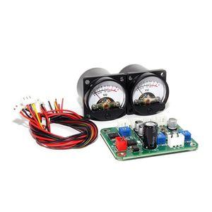 Image 5 - 2 Pcs VU פנל Meter חזור חם אור הקלטה + עמיד נהג לוח מודול + כבלי Dropship
