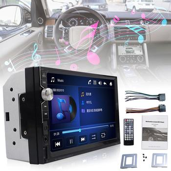 2020 7 écran tactile 2 Din autoradio Dash MP5 lecteur multimédia Bluetooth USB FM AM Audio Radio caméra de recul image