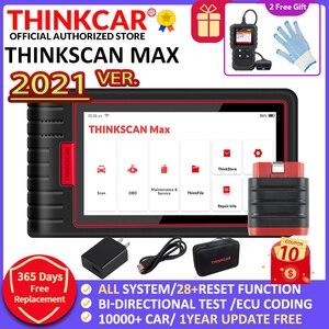 Image 1 - Thinkcar thinkscan最大自動OBD2診断ツールフルシステムecuコーディング双方向制御28リセット起動