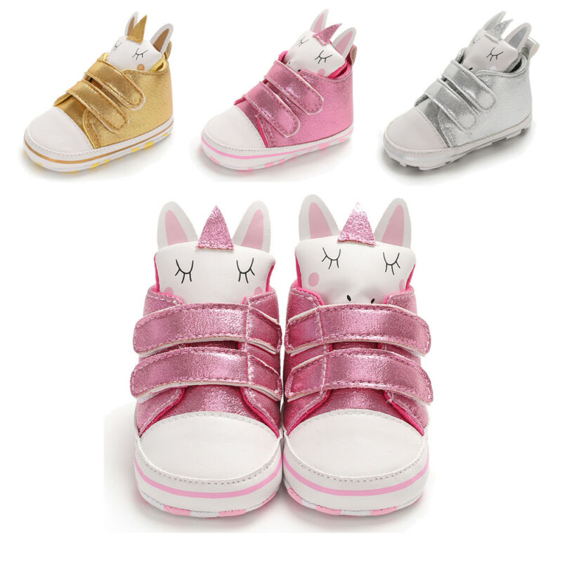 Pudcoco Newborn Baby Girl Shoes Bunny Ear Lovely Infant Toddler Prewalker PU Baby Girl Cute Soft Sole Crib Shoes