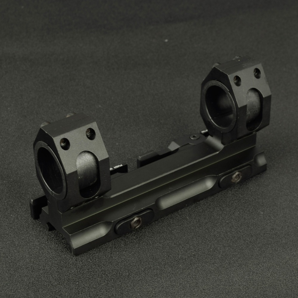 Tactical scope mount 25.4mm 30mm tecelão picatinny