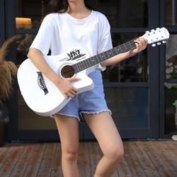 38 zoll Folk Gitarre Sopran BasewoodTop Fichte Gitarre Konzert Guitarra Anfänger Geschenk AGT181