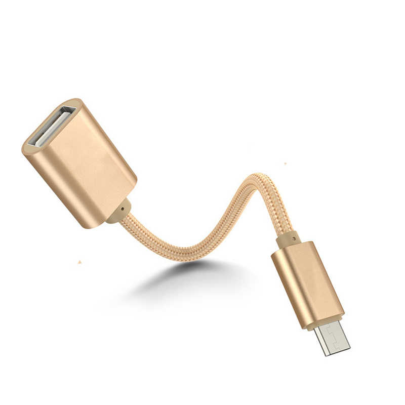 2 In 1 Tipe-C OTG Kabel Adaptor untuk Samsung S10 S10 + Xiaomi Mi 9 Android Macbook Mouse gamepad Tablet PC Tipe C OTG Kabel USB
