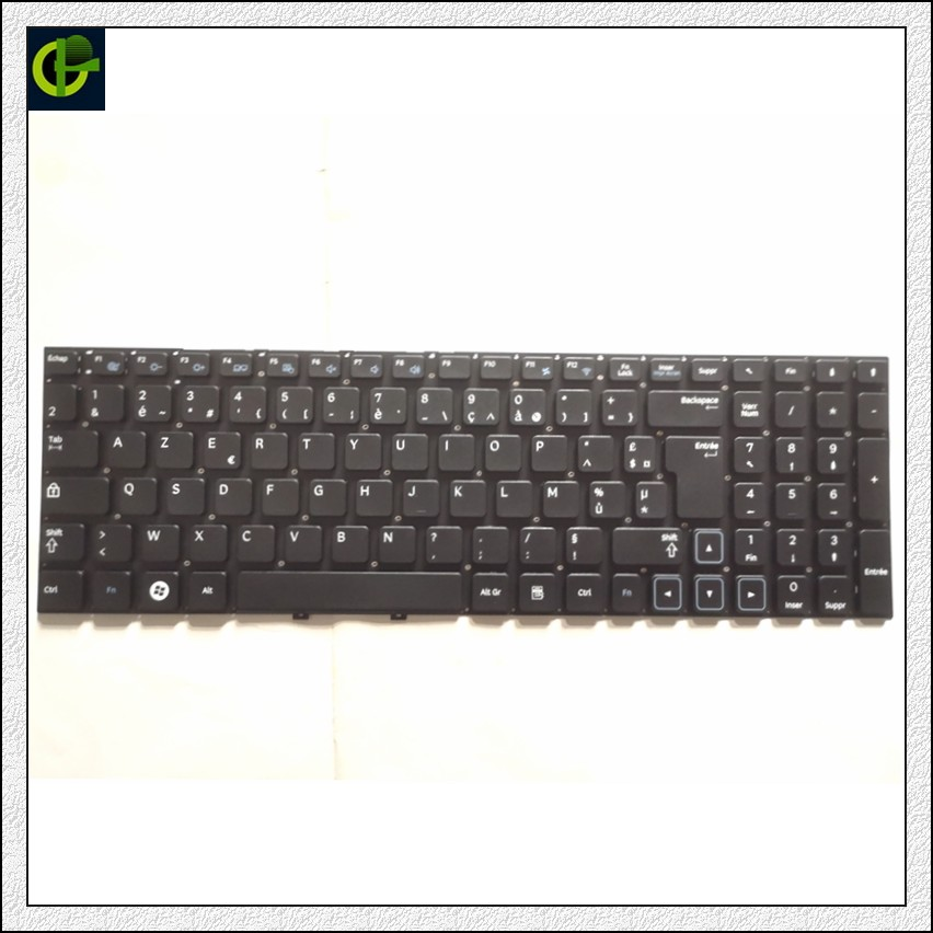 """Prancūziška """"Azerty"""" klaviatūra """"Samsung 300E5C NP300E5C NP300E5Z NP300V5Z 300E5Z 300V5Z NP300E5X 305V5Z NP305V5Z 305E5Z NP305E5Z FR"""""""