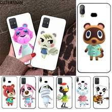 Animal Crossing Wiki Do Telefone Da Tampa Do Caso Para Samsung Galaxy A21S A01 A11 A31 A81 A10 A20E A30 A40 A50 A70 A80 A71 A51