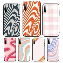 Liquid Swirl Abstract Pattern Phone Case For Samsung S Note20 10 2020 S5 21 30 ultra plus A81 Cover Fundas Coque