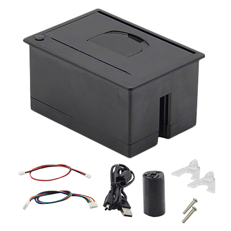 58Mm Mini Panel Embedded Thermal Printer with Rs232 Usb Port for Pos Atm Receipt Ticket Barcode