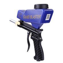 Sandblasting-Gun Portable Small Rust Gravity