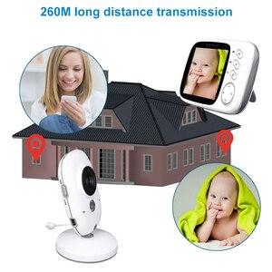Image 4 - อิเล็กทรอนิกส์จอภาพเด็ก Wireless กล้อง babyfoon niania elektroniczna วิดีโอ vigilabebes connectee WiFi วิดีโอการเฝ้าระวัง