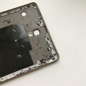 """Image 2 - الإسكان الخلفي الغطاء الخلفي لسامسونج تبويب S T700 T705 غالاكسي 8.4 """"الأصلي هاتف تابلت جديد الأوسط الإطار لوحة استبدال أدوات"""
