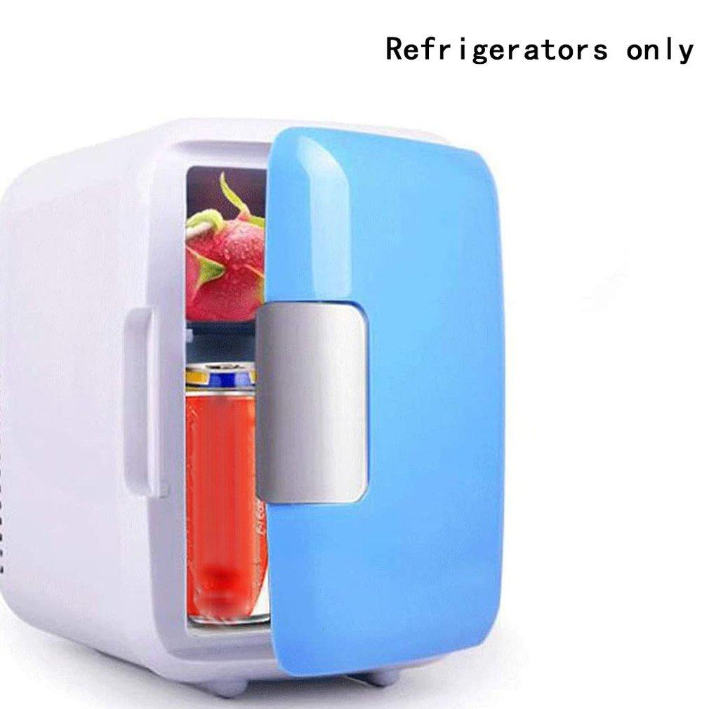 Portable Car Freezer 4L Mini Fridge Refrigerator Car Refrigerator Cooler Heater Universal Vehicle Parts