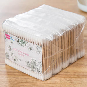 Buds Blending-Tool Makeup Cotton-Swab Eyeshaow Nose Double-Head for Women 500pcs/Pack