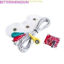 Monitoring-Sensor-Module Electrocardiogram 10pcs/Lot AD8232 Pulse