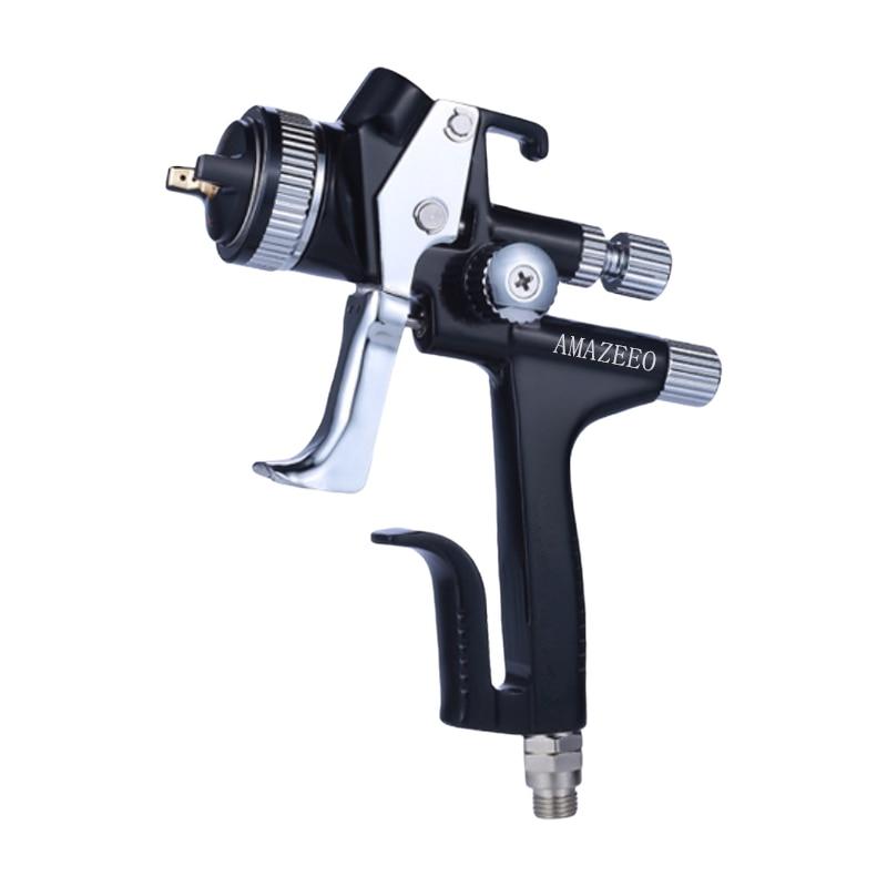 Черный титановый Электролитный электрод со случайно выбранным Краски пистолет 1,3 мм сопла 5000B спрей пистолет охраны окружающей среды Аэрог...